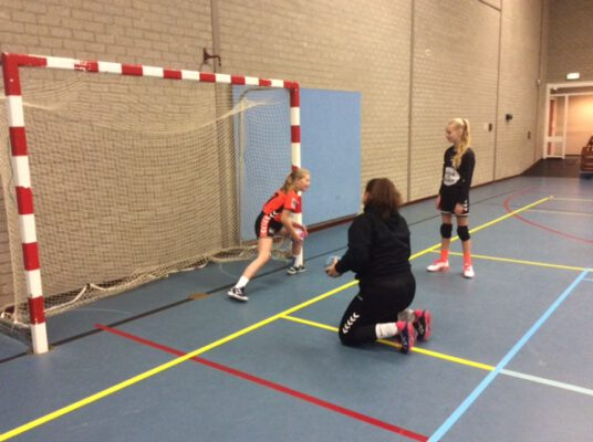 Afbeelding handbalschool keeperstraining